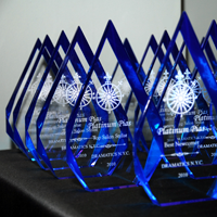 The Platinum PIAs are a New York City awards show that since 2010 has been held either in a venue such as Robert De Niro's Tribeca Screening room or even online-only.